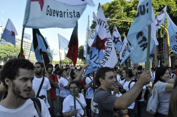 Juventud Guevarista marcha 24