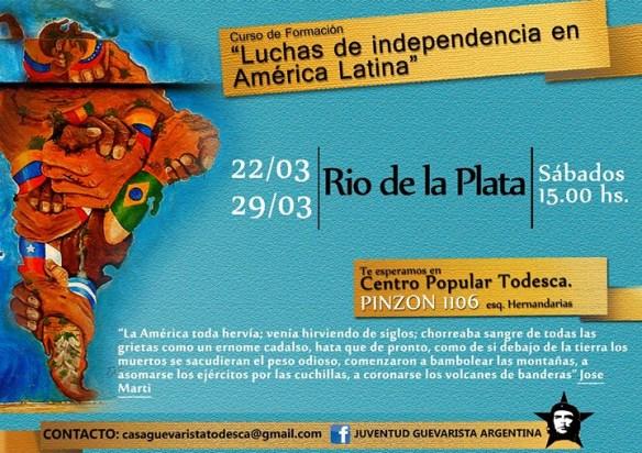 Últimos dos encuentros sobre las Luchas de Independencia en América Latina