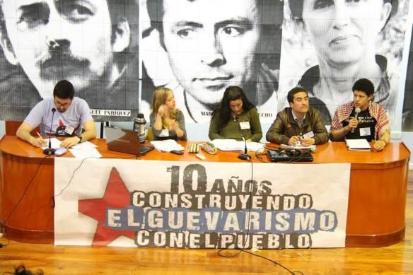 9no Plenario Juventud Guevarista - mesa