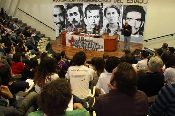 Daniel de Santis- Plenario Juventud Guevarista de Argentina