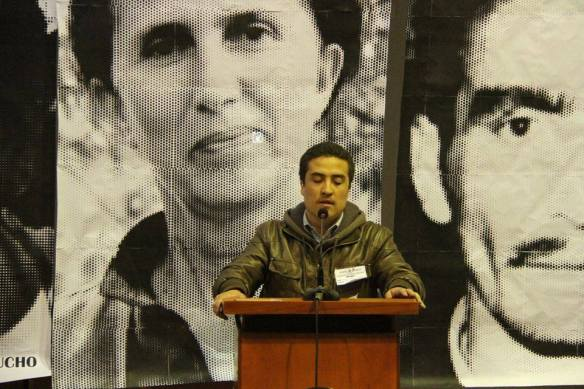 MIR Chile en Plenario Nacional de la JUventud GUevarista de argentina