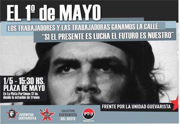Dia del trabajador Juventud Guevarista - Corriente de Trabajadores Guevaristas